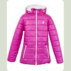 Куртка Frantolino 2202-109 з капюшоном темно-рожева