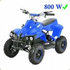 КВАДРОЦИКЛ PROFI HB-EATV 800C-7: 30 км / год, 36V, 800 ДО 100 КГ, синій