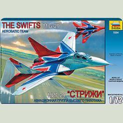 """Літак """"МІГ-29"""" авіагрупа """"Стрижі"""""""