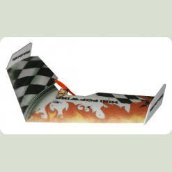 Літаюче крило Tech One Mini Popwing 600мм EPP ARF (черний)