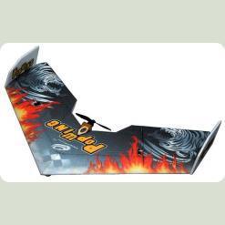 Літаюче крило Tech One Popwing 900мм EPP ARF (черний)
