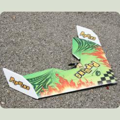 Літаюче крило Tech One Popwing 900мм EPP ARF (зелений)