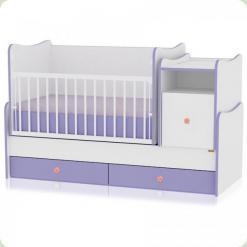 Ліжечко Bertoni TREND PLUS (white / violet)