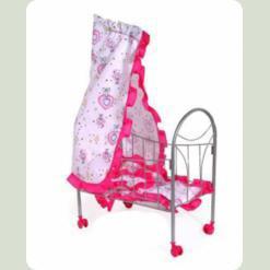 Ліжечко для ляльок Melogo (Metr +) 9394