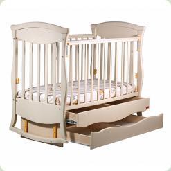 Ліжечко Грація 2 ящика + маятник (сл.кость)