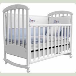 Лiжко для новонароджених 9 (декор різьблення повiтрянний змiй)