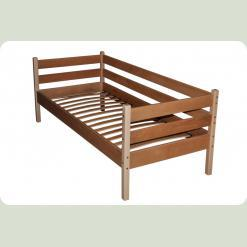 Ліжко одноярусна з буку