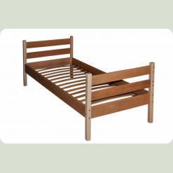 Ліжко одноярусне Babygrai - 2 з бука