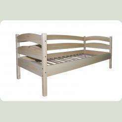 Ліжко одноярусне Babygrai люкс з сосни