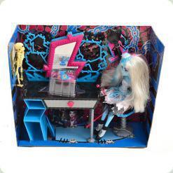 Лялька Monster Girl з білим волоссям (3027)
