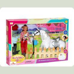 Лялька з конячкою. Кінна прогулянка.