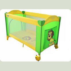 Манеж Bambi M 2240 Зелено-жовтий