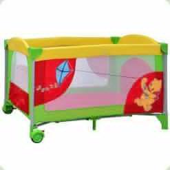 Манеж Bambi Winnie The Pooh A 03-7 Червоно-зелений
