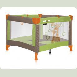 Манеж Bertoni Just4kids Play Green & Beige Giraffes