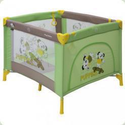 Манеж Bertoni Play Station Green & Beige Puppies