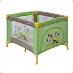Манеж Bertoni PLAY STATION (green beige puppies)