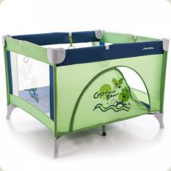 Манеж Bertoni PLAY STATION (green captain bear)