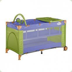 Манеж Bertoni ZIPPY 2L + (violet green)