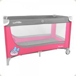 Манеж Carrello Piccolo CRL-7303 Grey/Pink