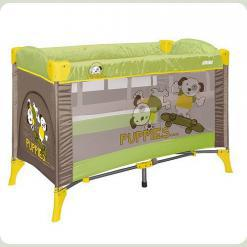 Манеж Just4kids ARENA 2L (green beige puppies)