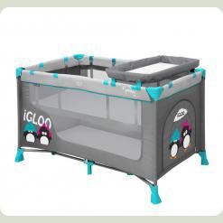 Манеж Just4kids NANNY 2L (grey green igloo)