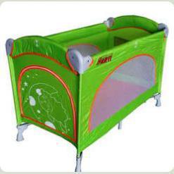 Зелений манеж Arti Basic (прямокутний)