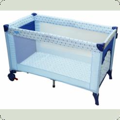 Манеж -ліжко Bambi M0823 Блакитний