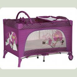 Манеж Lorelli TRAVEL KID 2L (pink movie star)