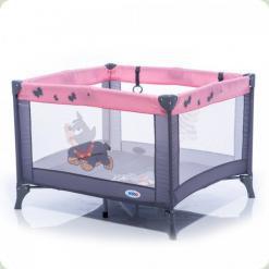 Манеж Mioo M100 Dog Tike Сіро-рожевий
