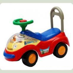 Машинка-каталка Alexis-Babymix 2108 (turquoise-red)