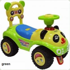 Машинка-каталка Alexis-Babymix 7601 (green)