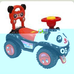 Машинка-каталка Alexis-Babymix 7601 (red)