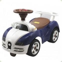 Машинка-каталка Alexis-Babymix 7628 (blue-brown)