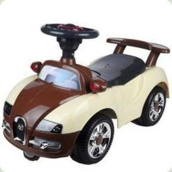 Машинка-каталка Alexis-Babymix 7628 (brown-beige)
