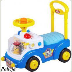 Машинка-каталка Alexis-Babymix HZ-530 (blue)