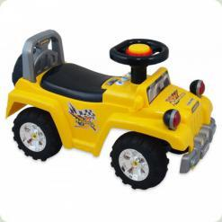 Машинка-каталка Alexis-Babymix HZ-553 (yellow)
