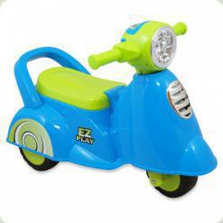 Машинка-каталка Alexis-Babymix HZ-605 (blue)