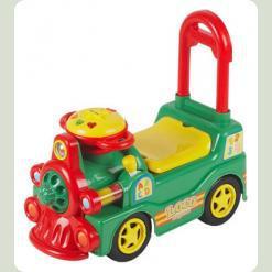 Машинка-каталка Alexis-Babymix LS-888 (green)