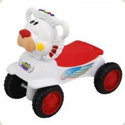 Машинка-каталка Alexis-Babymix PL318894 (white)