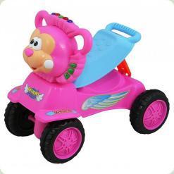 Машинка-каталка Alexis-Babymix PL318895 (pink)