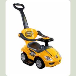 Машинка-каталка Alexis-Babymix Z-381 (yellow)