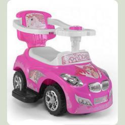 Машинка-каталка M.Mally Happy (pink)
