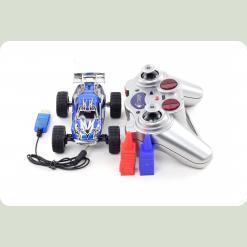 Машинка мікро р/к 1:32 WL Toys Speed Racing швидкісна (синій)