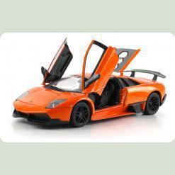 Машинка р/к 1:18 Meizhi лиценз. Lamborghini LP670-4 SV металева (помаранчевий)