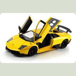 Машинка р/к 1:18 Meizhi лиценз. Lamborghini LP670-4 SV металева (жовтий)