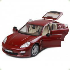 Машинка р/к 1:18 Meizhi лиценз. Porsche Panamera металева (червоний)