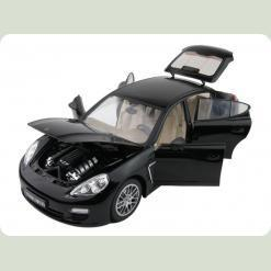 Машинка р/к 1:18 Meizhi лиценз. Porsche Panamera металева (чорний)