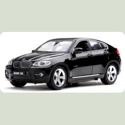 Машинка р/к 1:24 Meizhi лиценз. BMW X6 металева (чорний)
