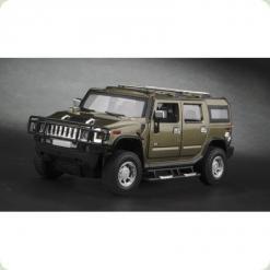 Машинка р/к 1:24 Meizhi лиценз. Hummer H2 металева (темно-зелений)