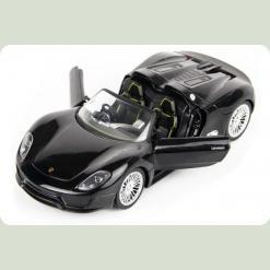 Машинка р/к 1:24 Meizhi лиценз. Porsche 918 металева (чорний)